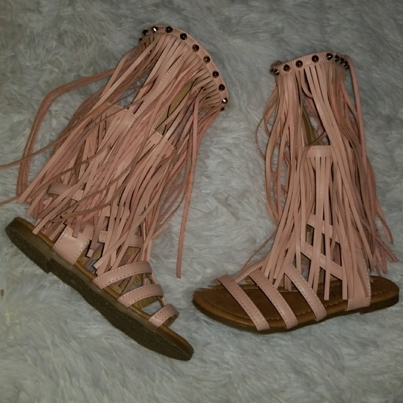 de86d3d9276f I love yo kids Other - Girls fringe gladiator sandals